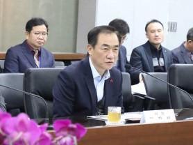 정장선 평택시장 도의원과 현안 논의
